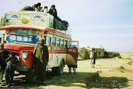 afghani bus